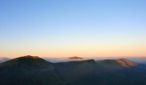 Dawn view from Tryfan