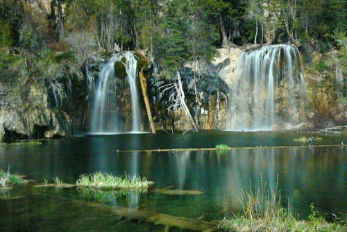 Exposure of Hanging Lake