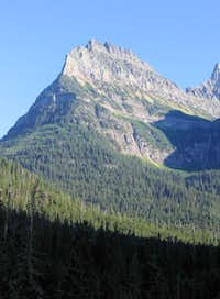 Mount Oberlin, from the Sun Road