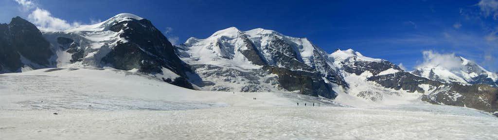 Panorama Piz Palü