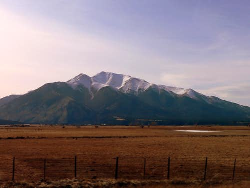 Mt. Princeton from the Highway