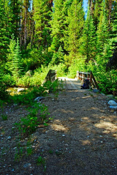 Bridge over Watchtower Creek