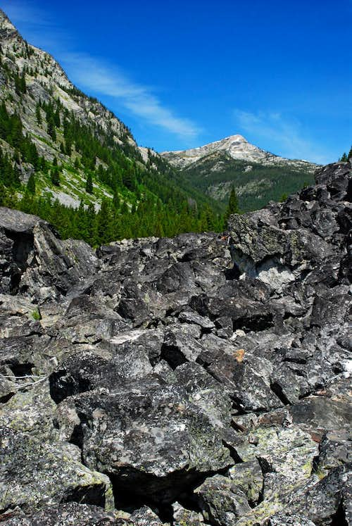 Watchtower Peak from Talus