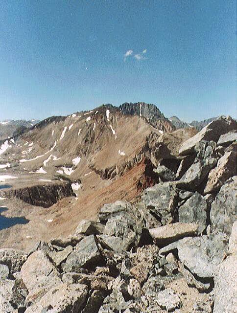 The Taboose Pass area, viewed...