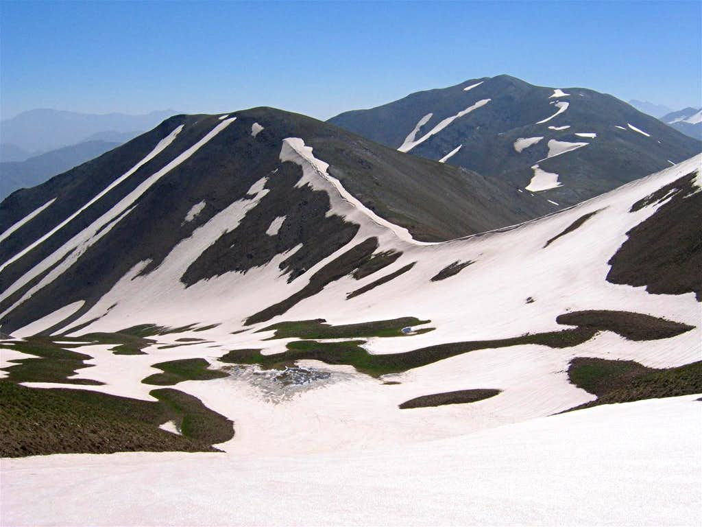 From near the summit of Naz
