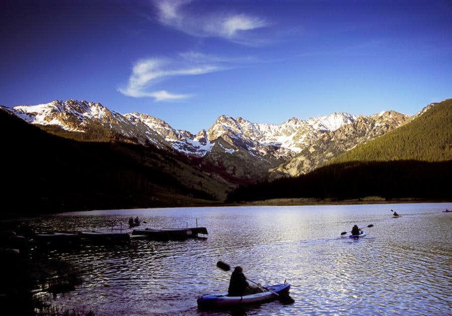 Three Canoes and Peak C