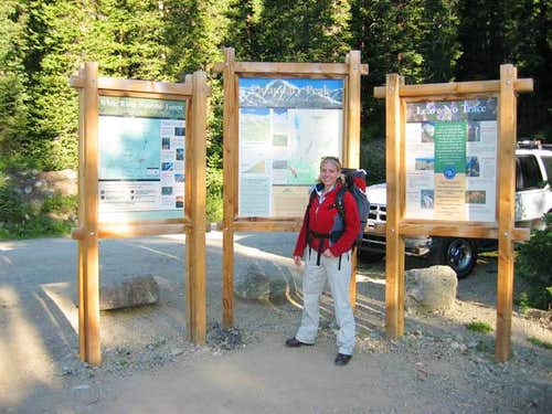 At Trailhead on Quandary