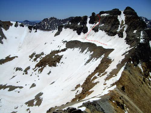 East Face, Vermilion Peak