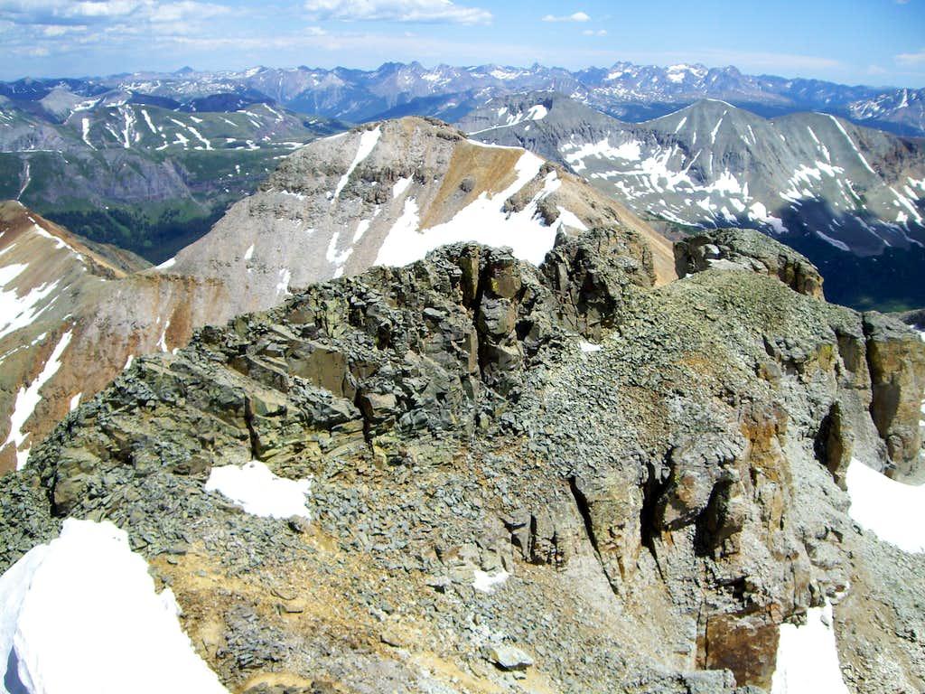 The Southeast Ridge - Vermilion Peak