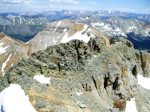 The Southeast Ridge - Vermilion Peak