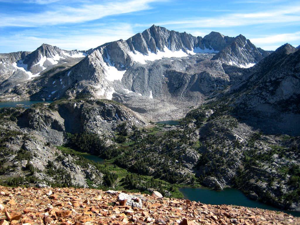 Mt. Goode from Chocolate Peak