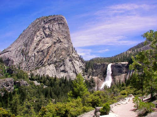 Nevada Falls & Liberty Cap