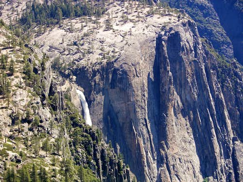 Yosemite Falls from Eagle Peak