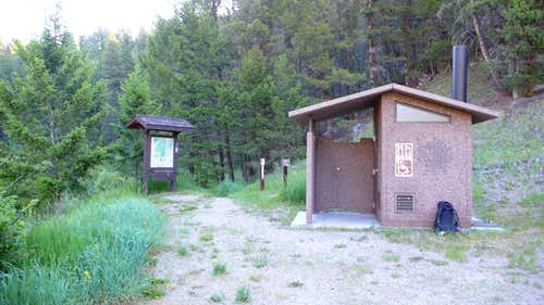 Moose Creek Trailhead