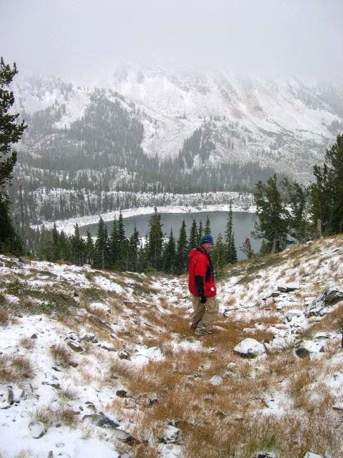 Haydar descending from Krag...
