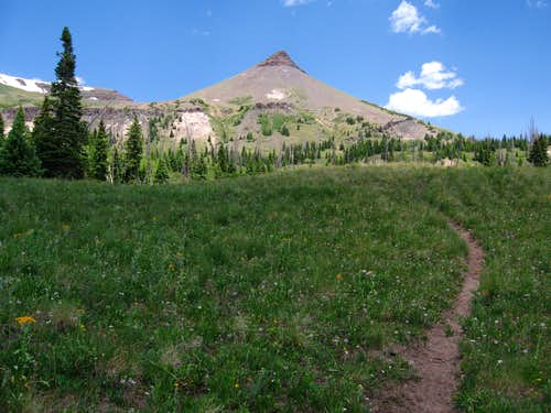 Dome Peak, Flat Tops Wilderness
