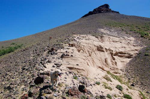 Dome Peak Basalt and Sandstone, Flat Tops Wilderness