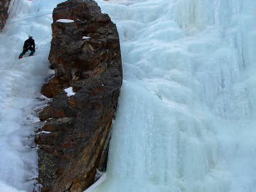 ice climbing '07