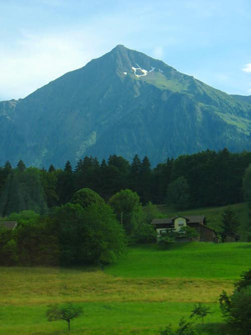 Mountain southwest of Interlaken