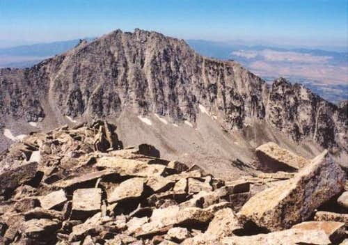 Lone Peak from summit of...