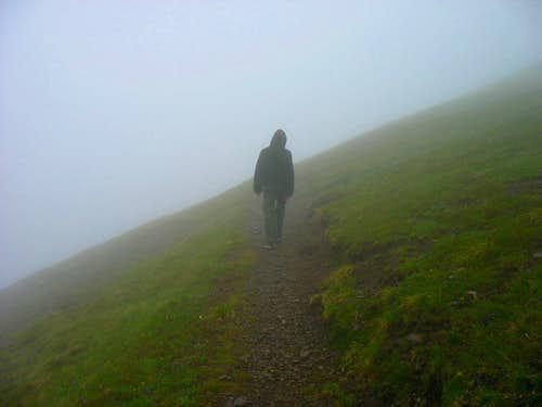 Misty Lauberhorn Trail