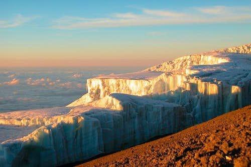 Kilimanjaro - Decken Glacier...