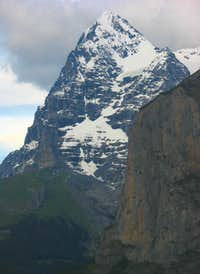 West side of Eiger