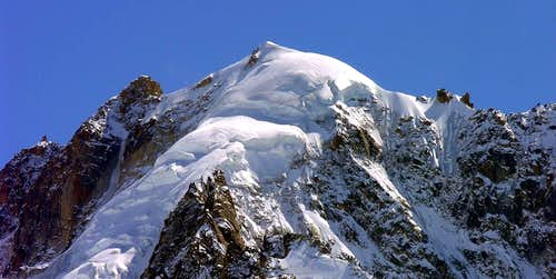 Aiguille Verte (4121m), North face