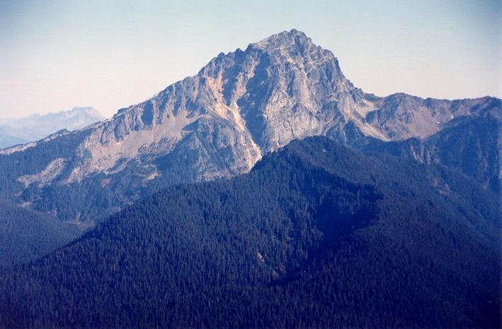 Sloan Peak's immense West...