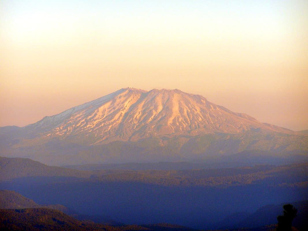 Morning Sun on Saint Helens