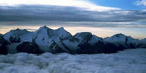 View of the Nadelgrat