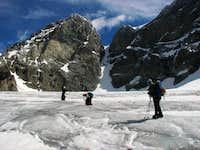 Sea of ice under Cresta Guzza (3869m)