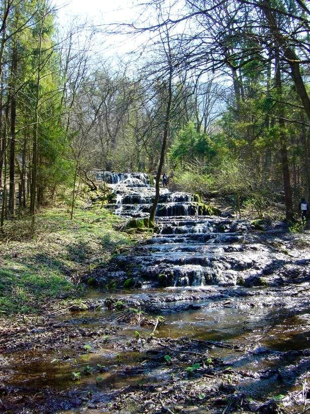 Fátyol (Veil) waterfall in the Bükk NP