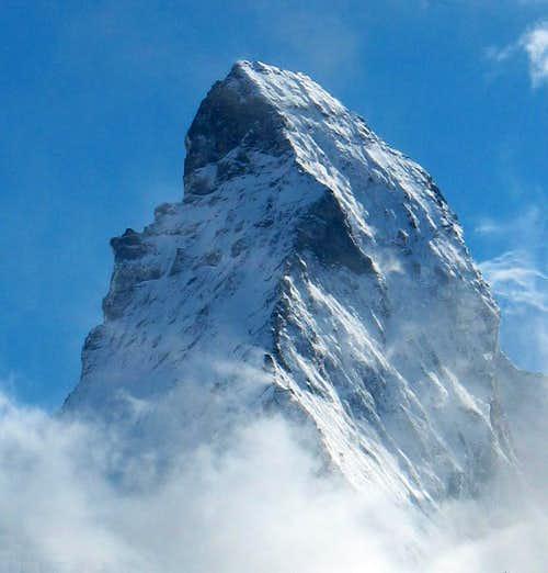 Matterhorn above the Clouds