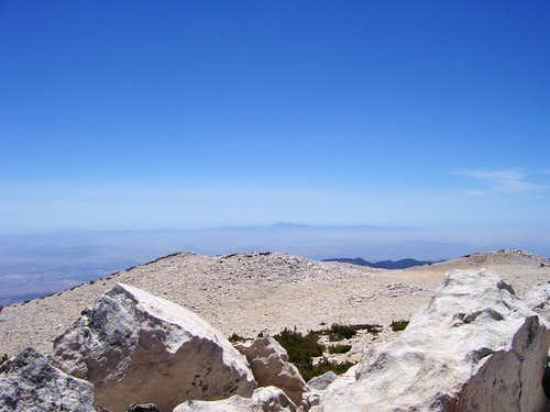 Looking West from San Gorgonio