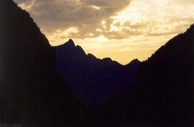Hall Peak (5,452 ft)...