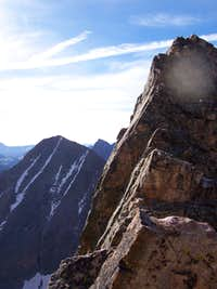 Vestal near the summit
