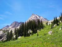 Vestal and the Trinity Peaks
