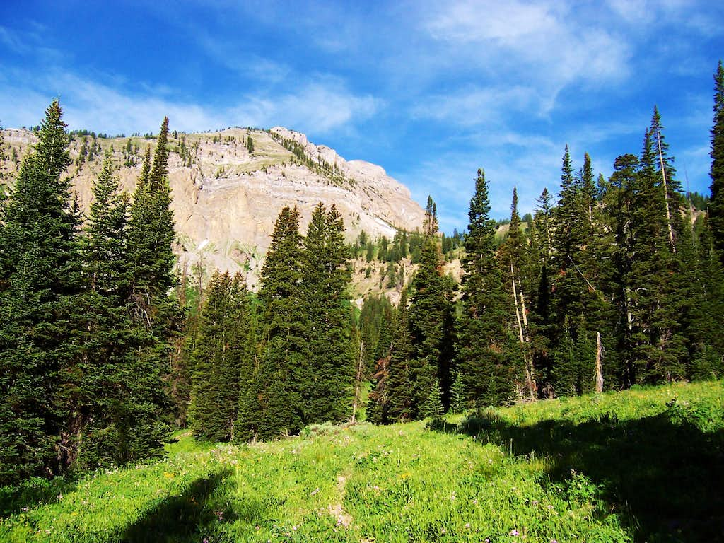 From Crow Creek Lakes Trail