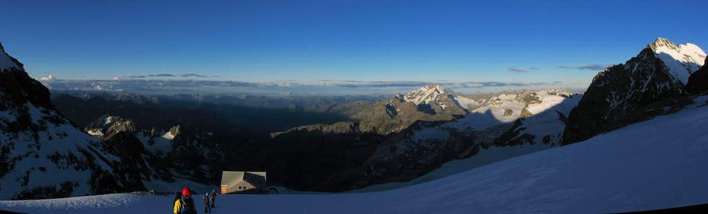 Bernina southwest panorama