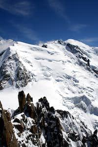 Mt blanc du Tacul - Mt Maudit - Mt Blanc