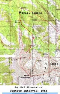 Alternative Gold Basin Route