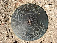 Monrovia Peak Summit Marker