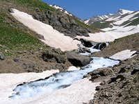 Stream to Kholeno Lake