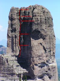 South Face Crack