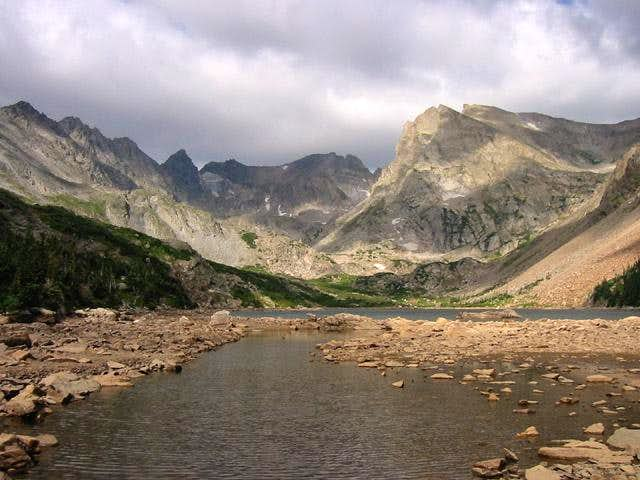 Navajo Peak, Apache Peak, and...