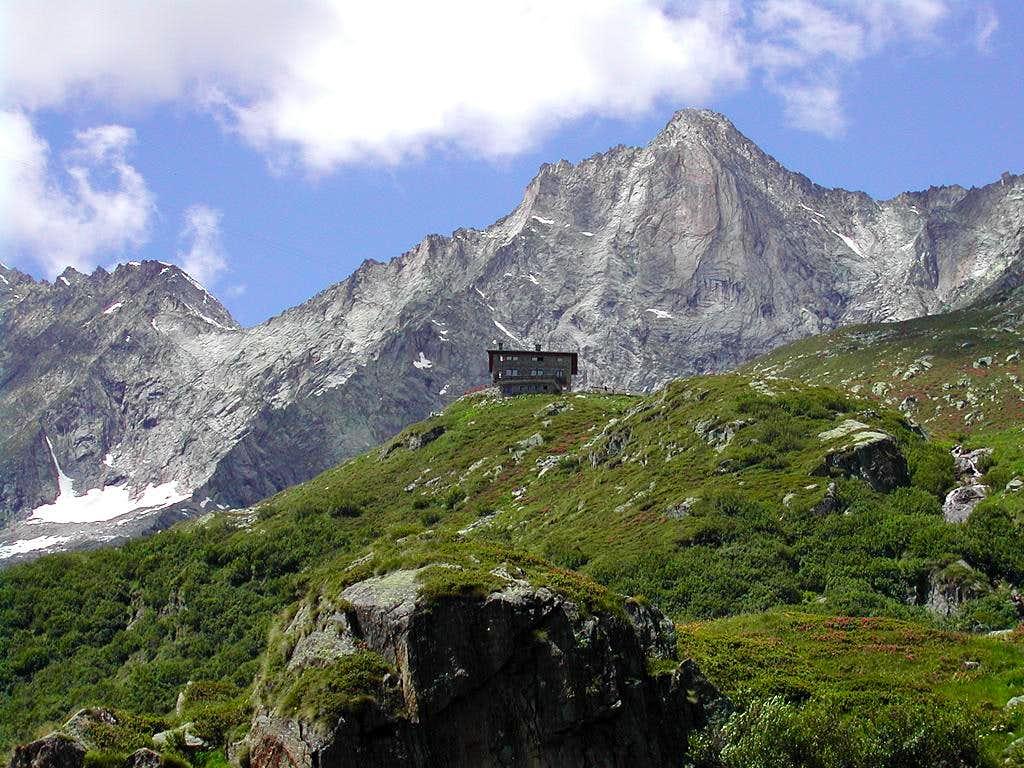 Rifugio Andolla & Pizzo Loranco (Mittelruck)