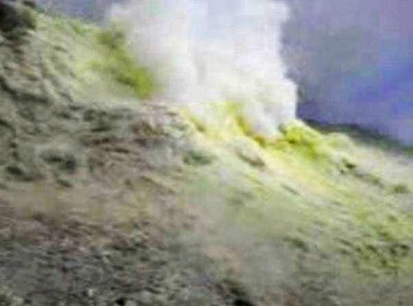 Volcanic hole