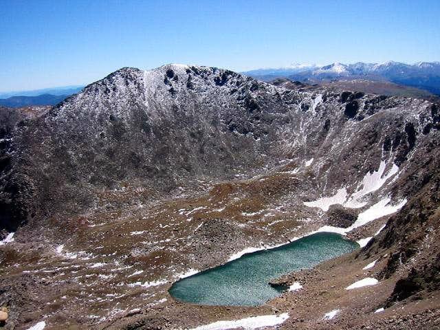 Jasper Peak from Mount Neva's...