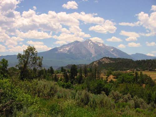 Mount Sopris from near the...